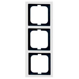 Рамка ABB Solo 3 поста белый (1723-84-500)