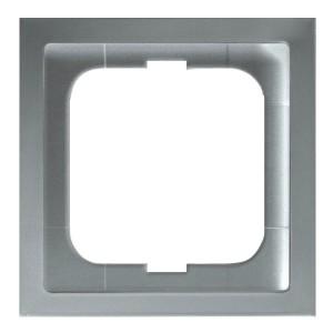 Рамка ABB Future Linear 1 пост серебристо-алюминиевый (1721-183K-500)