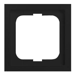 Рамка ABB Future Linear 1 пост чёрный бархат (1721-885K-500)