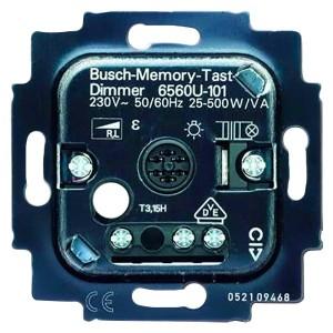 Механизм клавишного светорегулятора ABB 20-500 Вт/ВА (6560 U-101-500)