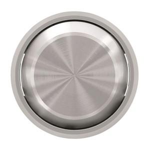 Клавиша для 1-клавишных выключателей/переключателей/кнопок ABB SKY Moon, кольцо хром (8601 CR)
