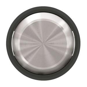 Клавиша для 1-клавишных выключателей/переключателей ABB SKY Moon, кольцо чёрное стекло (8601 CN)