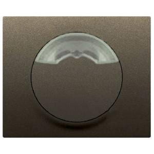 Лицевая панель - Galea Life - для электронного комнатного термостата Кат. № 7 758 68 - Dark Bronze