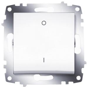 Выключатель двухполюсный ABB Cosmo белый