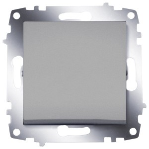 Выключатель ABB Cosmo алюминий