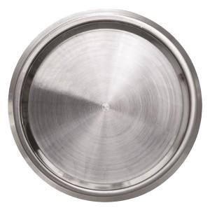 Заглушка с суппортом, АВВ SKY Moon, кольцо хром (8600 CR)