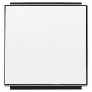 Клавиша для 1-клавишных выключателей/переключателей/кнопок ABB Sky, альпийский белый (8501 BL)