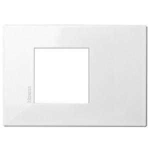 AXOLUTE Air рамка,итальянская модульность, 2 модуля, AXOLUTE белый