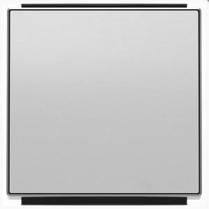 Клавиша для 1-клавишных выключателей/переключателей/кнопок ABB Sky, серебристый алюминий (8501 PL)