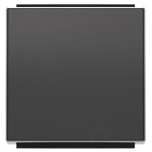 Клавиша для 1-клавишных выключателей/переключателей/кнопок ABB Sky, чёрный бархат (8501 NS)