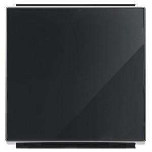 Клавиша для 1-клавишных выключателей/переключателей/кнопок ABB Sky, стекло чёрное (8501 CN)