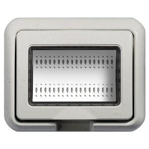 Влагозащитная крышка IP55 Idrobox 3 модуля LivingLight белый