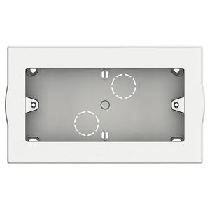 LivingLight Коробка для настенного монтажа, размер 4 модуля LivingLight белый