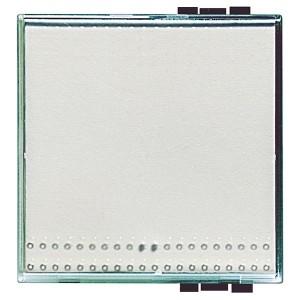Прозрачная клавиша для любых устройств 2 модуля LivingLight Kristall