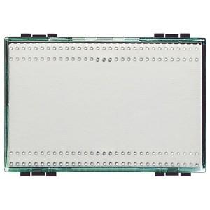 Прозрачная клавиша для любых устройств 3 модуля LivingLight Kristall