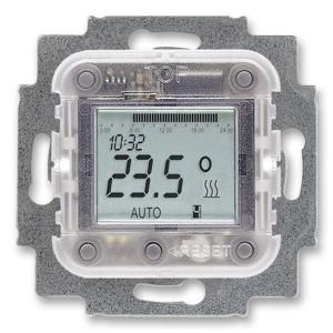 Механизм комнатного терморегулятора (термостата) с таймером, 16А/250 В (1098 U-101)