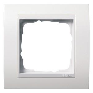 Рамка 1-ая Gira Event Белый Глянцевый цвет вставки Белый глянцевый