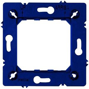 Пластиковый суппорт для серий Soho и Marco Fede, синий