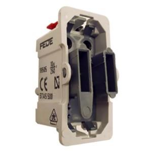 Выключатель одноклавишный 1 модуль Fede механизм