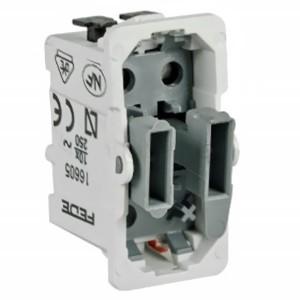 Выключатель 1-клавишный с индикацией Fede механизм
