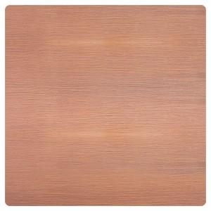 Заглушка латунная Soho Fede Brushed Copper