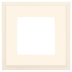 Рамка квадратная на 1 пост гор/верт Marco Fede, бежевый