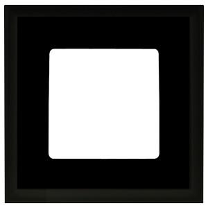 Рамка квадратная на 1 пост гор/верт Marco Fede, черный