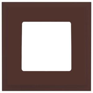 Рамка квадратная на 1 пост гор/верт Marco Fede, мокка