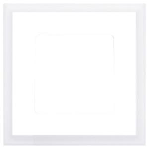 Рамка квадратная на 1 пост гор/верт Marco Fede, белый