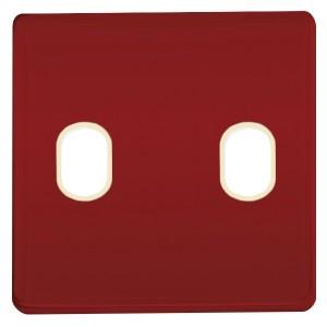 Накладка для 2-х тумблеров Marco Fede Red Wine бежевый