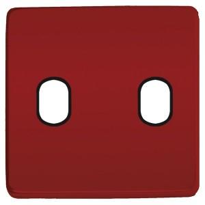 Накладка для 2-х тумблеров Marco Fede Red Wine черный