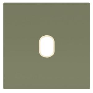 Накладка для 1-го тумблера Marco Fede Green Olive бежевый