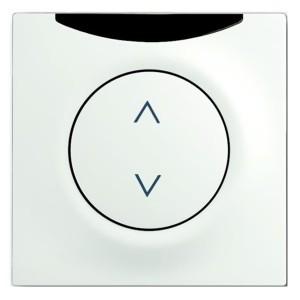 ИК-приёмник с маркировкой для 6953 U, 6411 U, 6411 U/S ABB impuls белый бархат (6066-774-101-500)