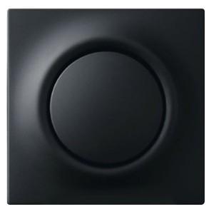 Клавиша для светорегулятора 6550 U-10x, 6560 U-101, 6593 U ABB impuls чёрный бархат (6543-775-101)