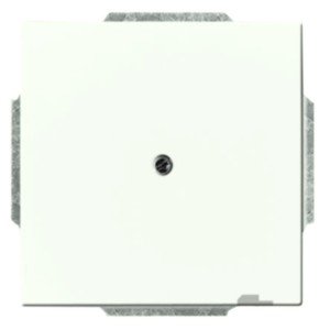Заглушка ABB future белый бархат (1742-884)