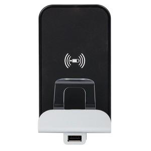 Беспроводное зарядное устройство Qi 1А с доп. разьемом USB A 5В 2,4А Livinglight c лицевыми панелями