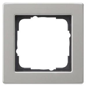 Рамка 1-ая Gira E2 Нержавеющая сталь