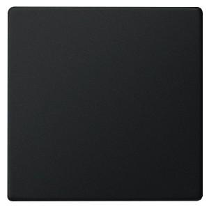 Клавиша 1-ая для выключателей и кнопок System 55 Gira Черный матовый