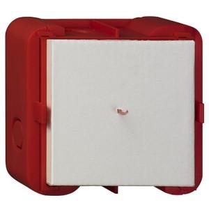 Коробка Gira для монтажа рамок серий E2 и E22 в кирпичные стены заподлицо 1-местная