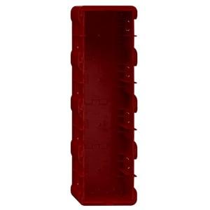 Коробка Gira для монтажа рамок серий E2 и E22 в кирпичные стены заподлицо 4-местная