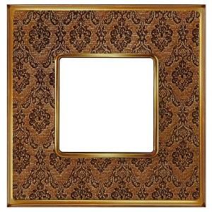 Рамка 1-ная Fede Vintage Tapestry, decorbrass - bright gold