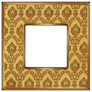 Рамка 1-ная Fede Vintage Tapestry, decorgold - bright gold