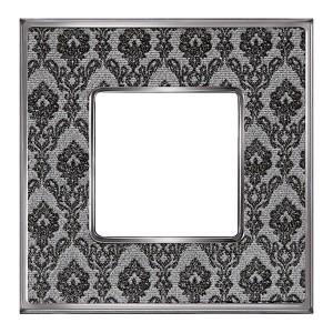 Рамка 1-ная Fede Vintage Tapestry, decornoir - bright chrome