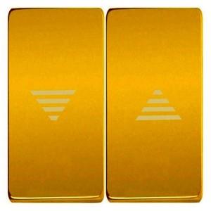 Клавиши для механизмов управления жалюзи, Fede Bright gold бежевый