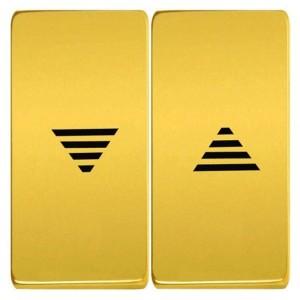 Клавиши для механизмов управления жалюзи, Fede Bright gold черный