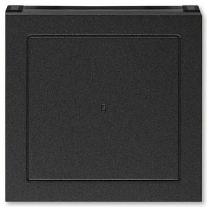 Накладка ABB Levit для выключателя карточного антрацит / дымчатый чёрный (3559H-A00700 63)