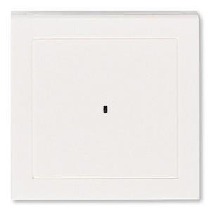 Накладка ABB Levit для выключателя карточного жемчуг / ледяной