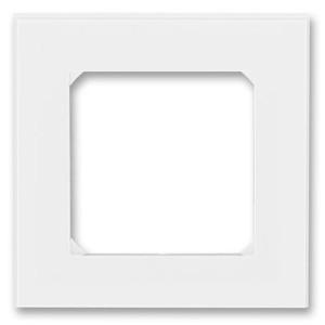 Рамка ABB Levit 1 пост белый / белый