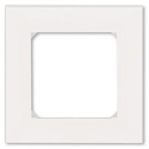 Рамка ABB Levit 1 пост жемчуг / ледяной