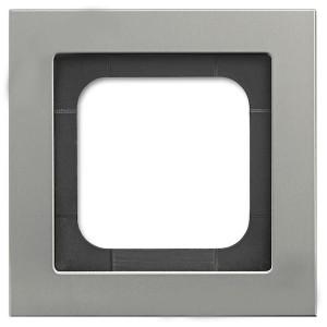 Рамка 1-постовая ABB Axcent металл платина (1721-270-500)